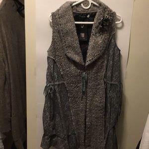 Forla Paris Gray Size Medium Jacket NWT